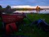 Pavel Lungin ohjaamaan elokuvaan The Island rekvisiitaksi rakennettu mökki
