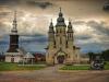Romanian puolella oli hienoja pikku kyliä joissa jokaisessa oli oma pieni kirkkonsa