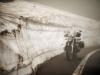 transfagarasan, oli juuri avattu liikenteelle tänäkesänä ja lunta olikin paikoin tievarsilla vielä reilusti