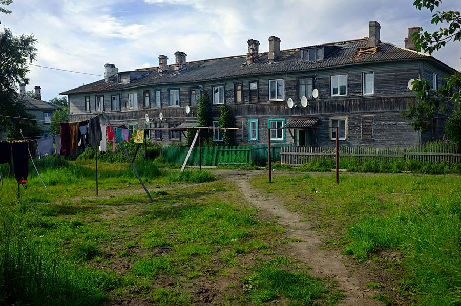 Paikallisia asuintaloja