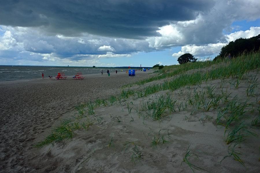 Pärnun hiekkarantaa