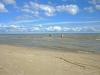 Valgeranna oli todella hieno uimapaikka ja rantaa riitti jokasuuntaan
