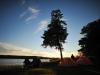 Kaunis oli iltata Kattnäs campingilla