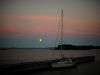 Viimonen yö Ahvenanmaalla vietettiin Hummelviken satamassa M/S Knipanilla