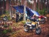 Hondamiesten leiri